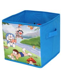 Doraemon Small Storage Box - Blue