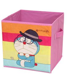 Doraemon Small Storage Box - Pink