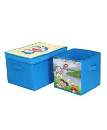 Doraemon Combo Storage Boxes Set - Blue