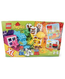 Lego Duplo Creative Building Basket - Multicolor