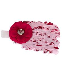 The KidShop Feather Headband - Wine
