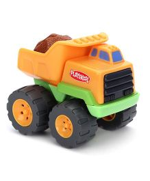 Funskool Playskool Rumblin Dump Truck - Orange