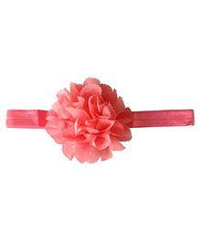 Akinos Kids Pretty Flower Headband - Peach