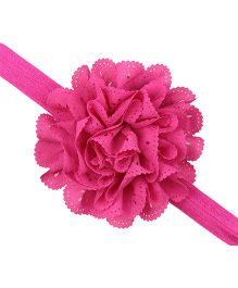 Akinos Kids Pretty Flower Headband - Pink