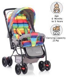 Babyhug Cosy Cosmo Stroller - Multi Color