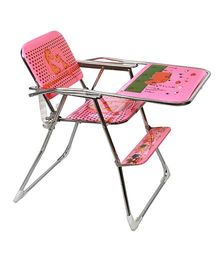 Sohum Folding High Chair - Pink