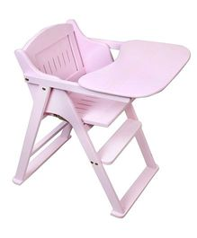 Sohum Folding High Chair Deco - Pink