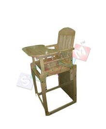 Sohum Convertible High Chair Deco - Green