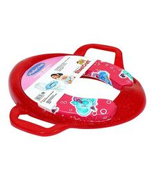 Babe Comfort Cushion Potty Seat With Handle - Red