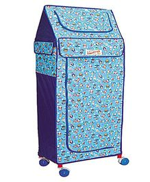 Babe Comfort Multipurpose Folding Almirah Big Boss - Blue