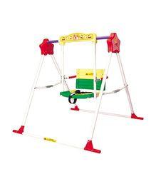 Babe Comfort High Class Chilren Swing - Yellow Green Red White