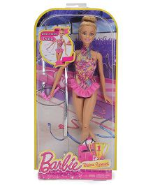 Barbie Gymnastics Assortment Doll Pink - 11 Inches