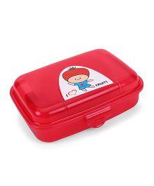 Pratap Happy Bite Lunch Box - Pink