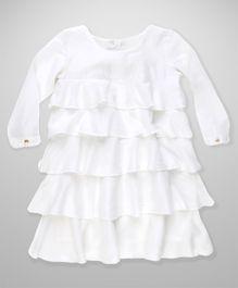 MilkTeeth Layered Dress - White