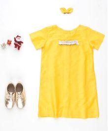 MilkTeeth Elfie Dress - Yellow