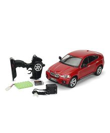 Mitashi Dash RC Rechargeable BMW X6 Car - Red