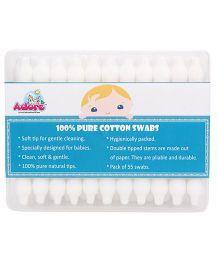 Adore Baby Cotton Swabs - 55 Pieces