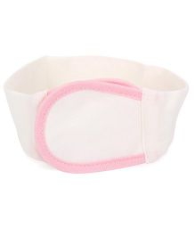 Adore Baby Nappy Fastener - White & Pink