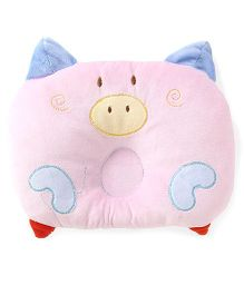 Adore Baby Neck & Head Support Pillow Piggy Design - Pink