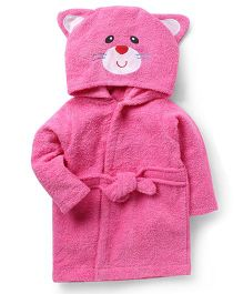Wonderchild Cat Bath Robe - Pink