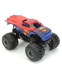 Hot Wheels Monster Jam Man of Steel - Red And Blue