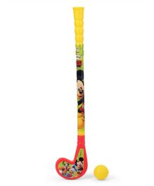 Disney Mickey Mouse Hockey Stick And Ball Set
