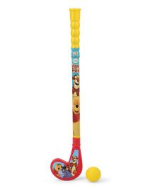 Disney Winnie The Pooh Hockey Stick And Ball Set (Color May Vary)