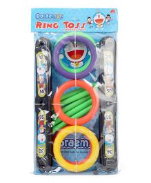 Doraemon Ring Toss Game - Multicolor