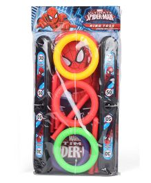 Marvel Spiderman Ring Toss Game - Multicolor