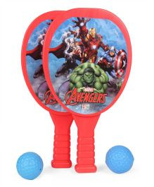 Marvel Avengers Racket Set (Color And Print May Vary)