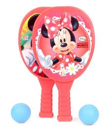 Disney Mickey And Minnie Mouse My First Racket Set (Color and Prints May Vary)