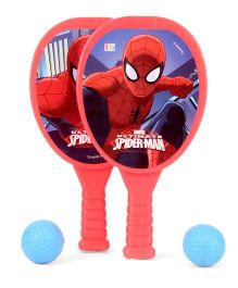 Marvel Spiderman My First Racket Set (Color & Print May Vary)