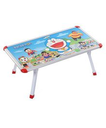 Doraemon Cross Leg Table - Blue