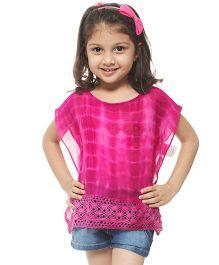 M'andy Tie Dye Kaftan - Pink