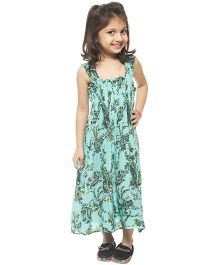 M'andy Beach Long Dress - Green
