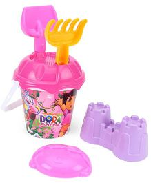 Dora Beach Bucket With Accessories (Color May Vary)