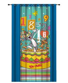 Portico New York Tom and Jerry Door Curtain - Blue