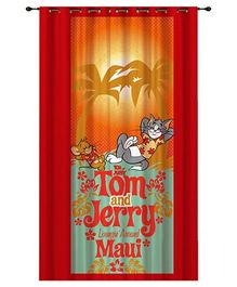 Portico New York Tom and Jerry Door Curtain - Red