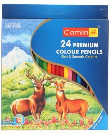 Camel Premium Color Pencils - 24 Shades