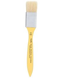 Camlin Paint Brush For Oil And Acrylic Colors Yellow - 17 cm