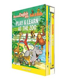 Infant Learning Company Educational DVD With Books At the Zoo - English