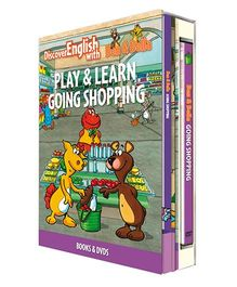 Infant Learning Company Educational DVD With Books Going Shopping - English