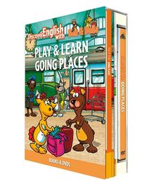 Infant Learning Company Educational DVD With Books Going Places - English