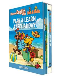 Infant Learning Company Educational DVD With Books A Special Day - English