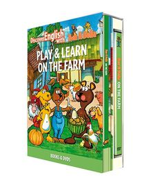 Infant Learning Company Educational DVD With Books On The Farm - English