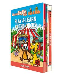 Infant Learning Company Educational DVD With Books At The Circus - English