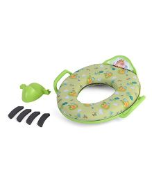 The First Years Winnie The Pooh Soft Seat Toilet Trainer - Green