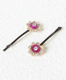 Funkrafts Ethnic Hair Pin - Pink