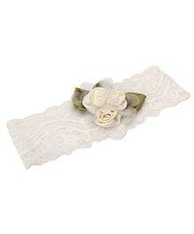 Funkrafts Rose Headband - Cream
