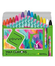 Youva Wax Crayons - Pack Of 16